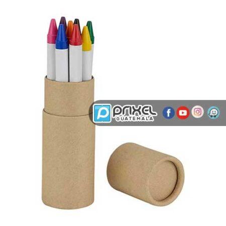Crayones ecologicos coloca tu logo y promocionate