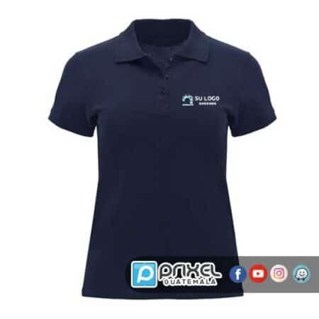 Camisa tipo polo para mujer