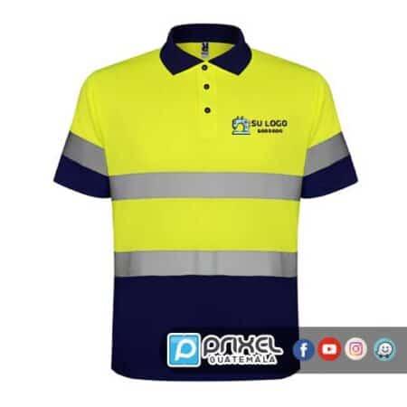Camisa Polo con reflectivo