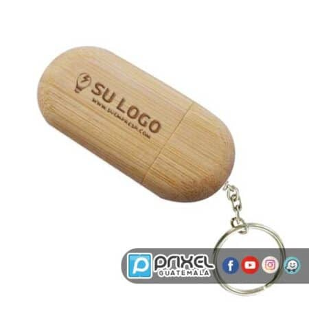 Usb de madera personalizada